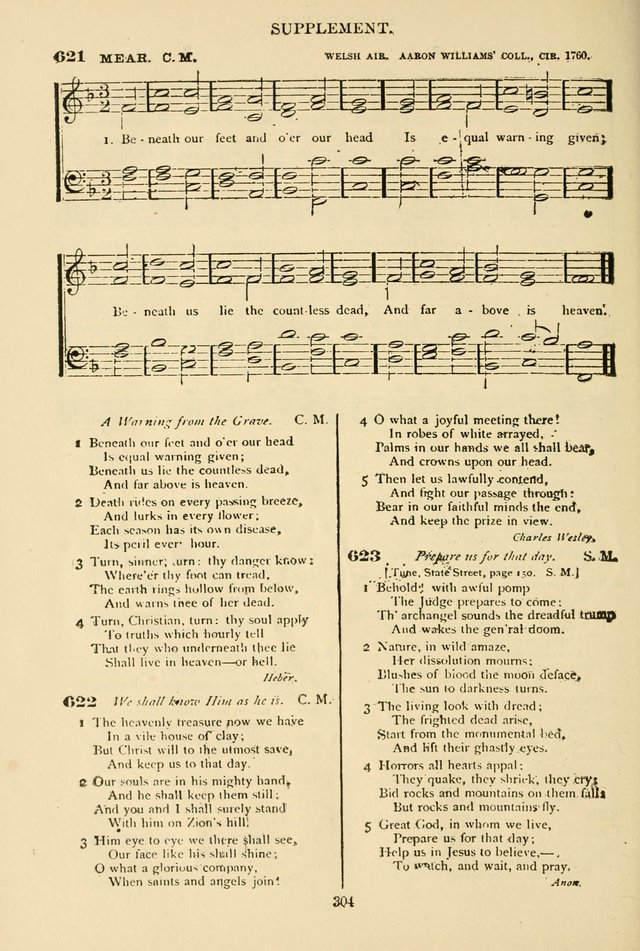 The African Methodist Episcopal Hymn and Tune Book: adapted to the doctrines and usages of the church (6th ed.) page 304
