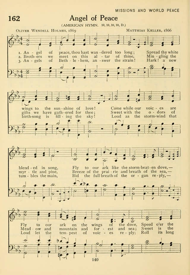The Army and Navy Hymnal page 140