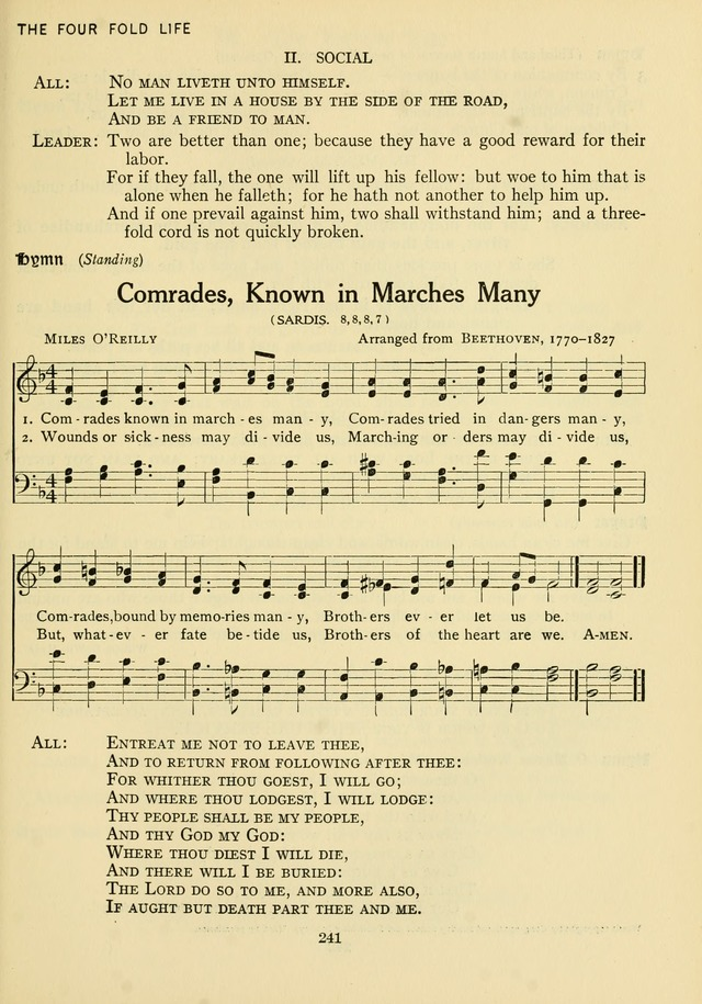 The Army and Navy Hymnal page 241