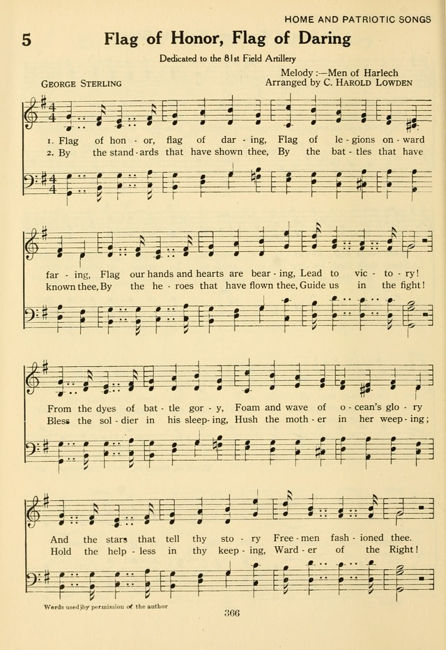 The Army and Navy Hymnal page 366