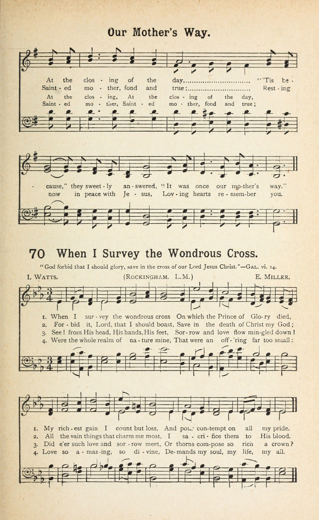 All Music Chords one sweet day sheet music : Alexander's New Revival Hymnal: as used at the Torrey-Alexander ...