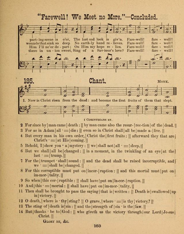 Augsburg Songs for Sunday Schools and other services page 163