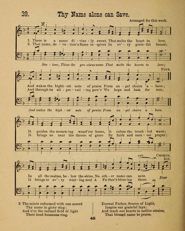 Augsburg Songs for Sunday Schools and other services page 48