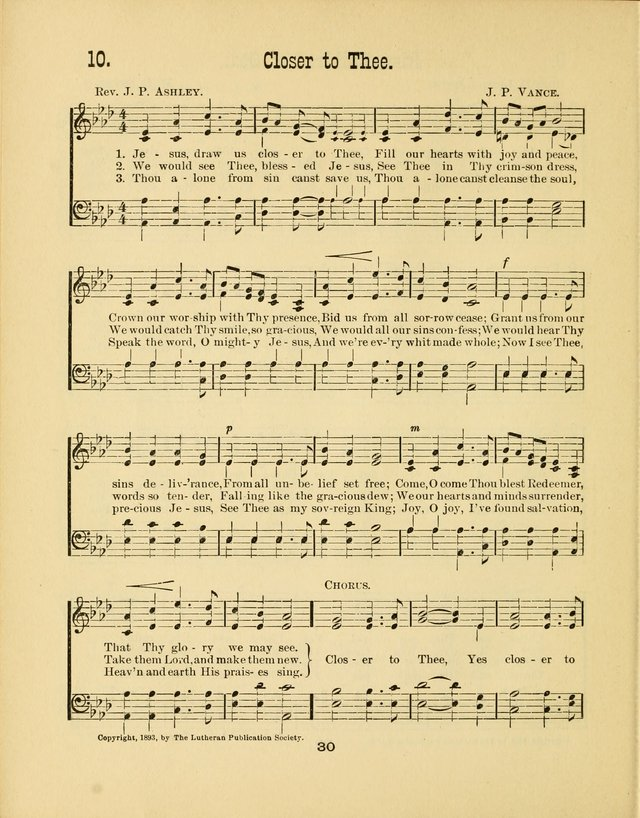 Augsburg Songs No. 2: for Sunday schools and other services page 37