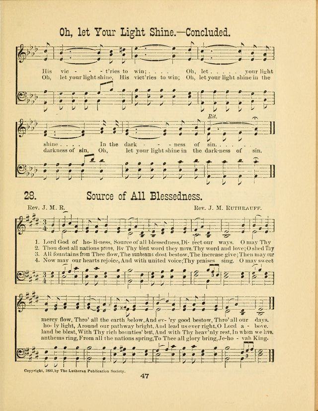Augsburg Songs No. 2: for Sunday schools and other services page 54