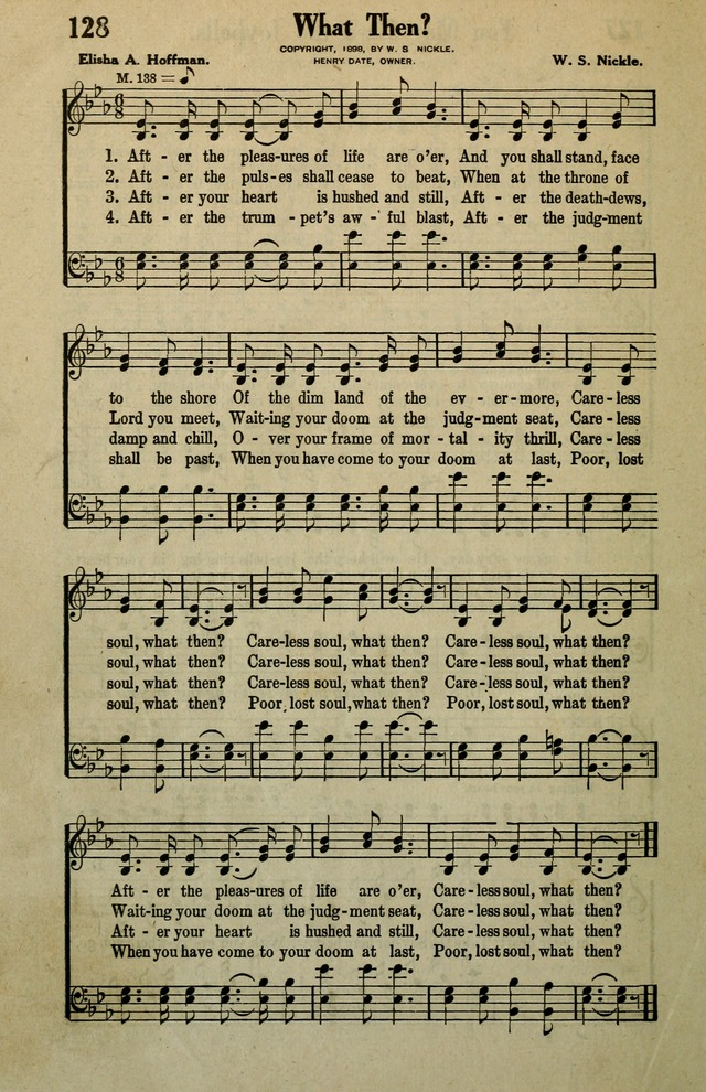 Awakening Songs for the Church, Sunday School and Evangelistic Services page 128