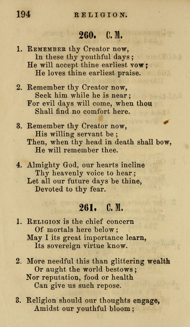 The American Sunday-School Hymn-Book page 195