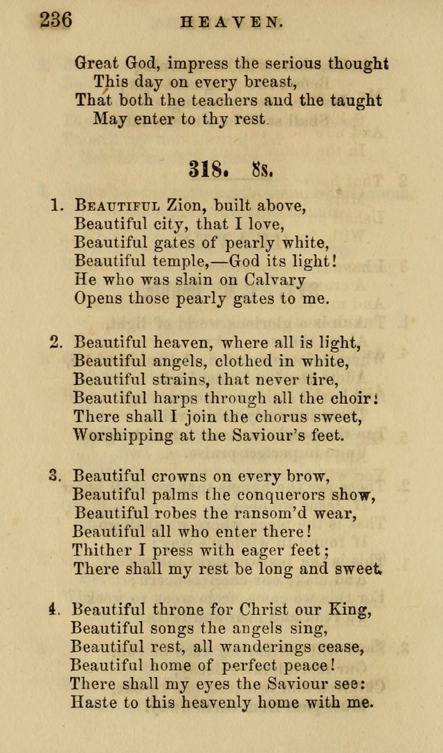 The American Sunday-School Hymn-Book page 237