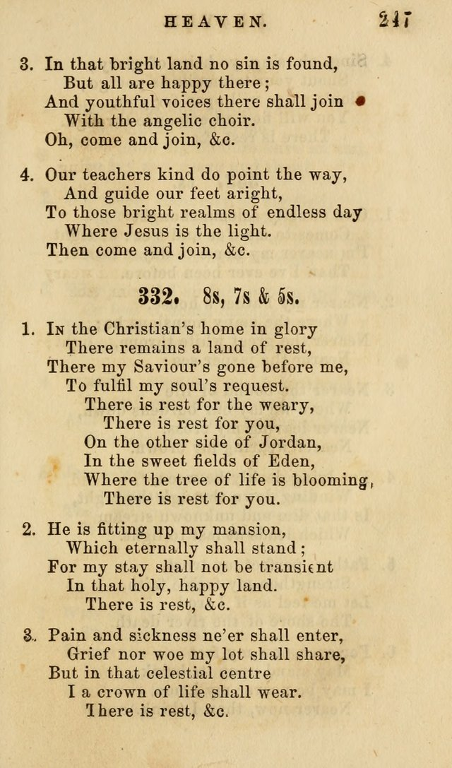 The American Sunday-School Hymn-Book page 248