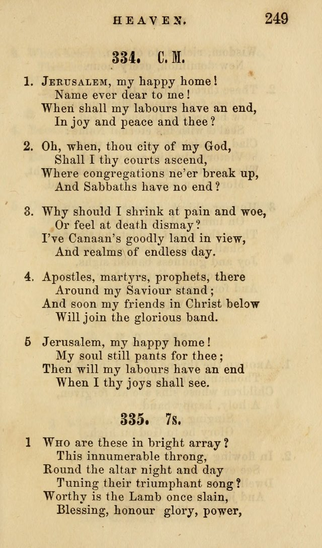 The American Sunday-School Hymn-Book page 250