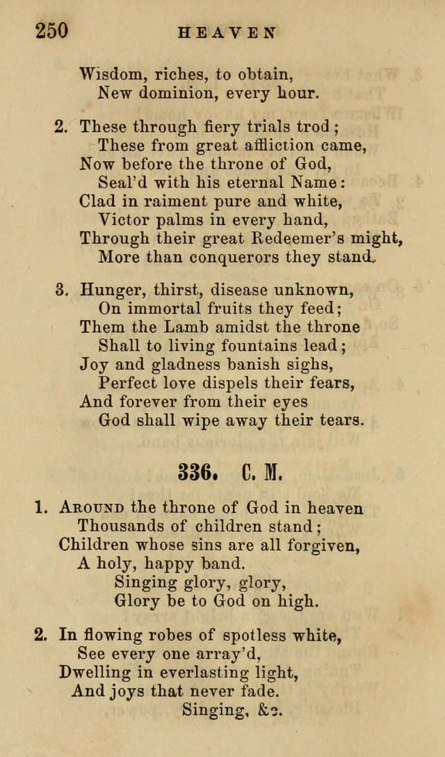 The American Sunday-School Hymn-Book page 251