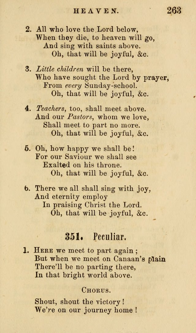 The American Sunday-School Hymn-Book page 264