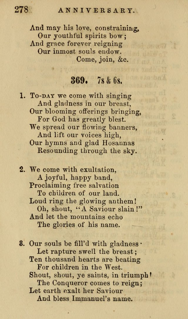 The American Sunday-School Hymn-Book page 279