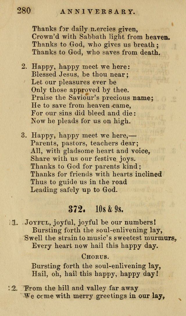 The American Sunday-School Hymn-Book page 281