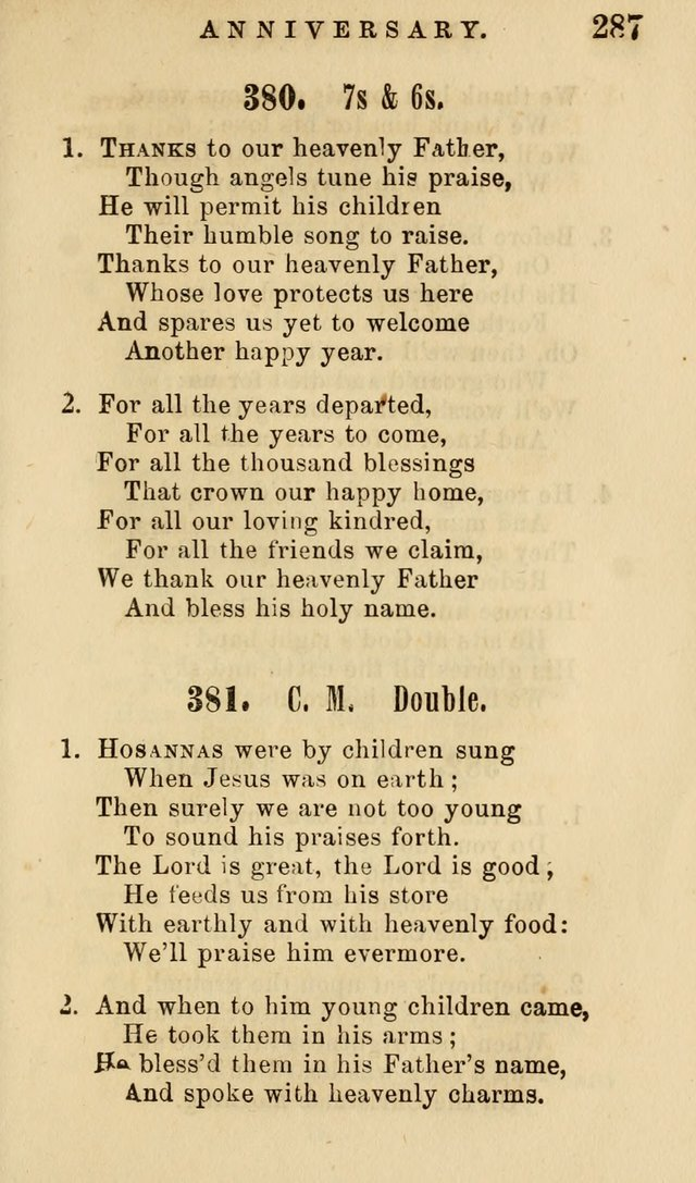 The American Sunday-School Hymn-Book page 288