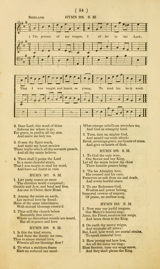 American Sunday School Psalmody; or, hymns and music, for the use of Sunday-schools and teacher