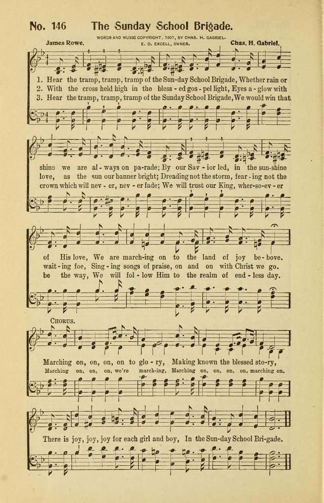Assembly Songs: for use in evangelistic services, Sabbath schools, young peoples societies, devotional meetings, and the home page 147