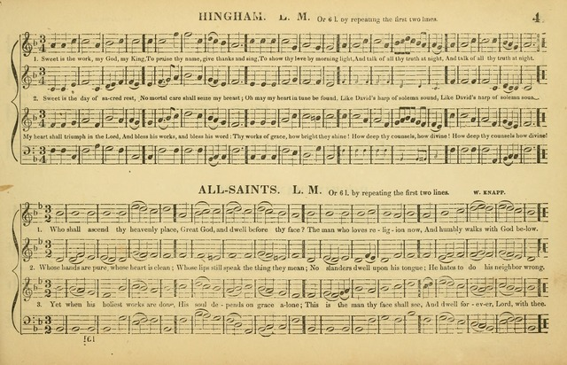 The American Vocalist: a selection of tunes, anthems, sentences, and hymns, old and new: designed for the church, the vestry, or the parlor; adapted to every variety of metre in common use. (Rev. ed.) page 41