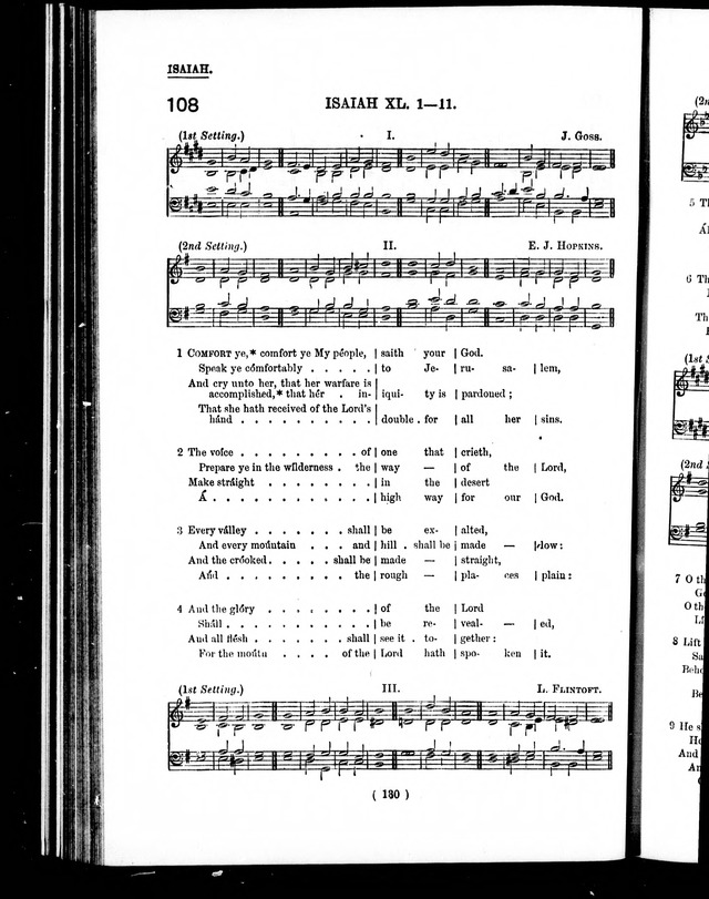 The Baptist Church Hymnal: chants and anthems with music page 133
