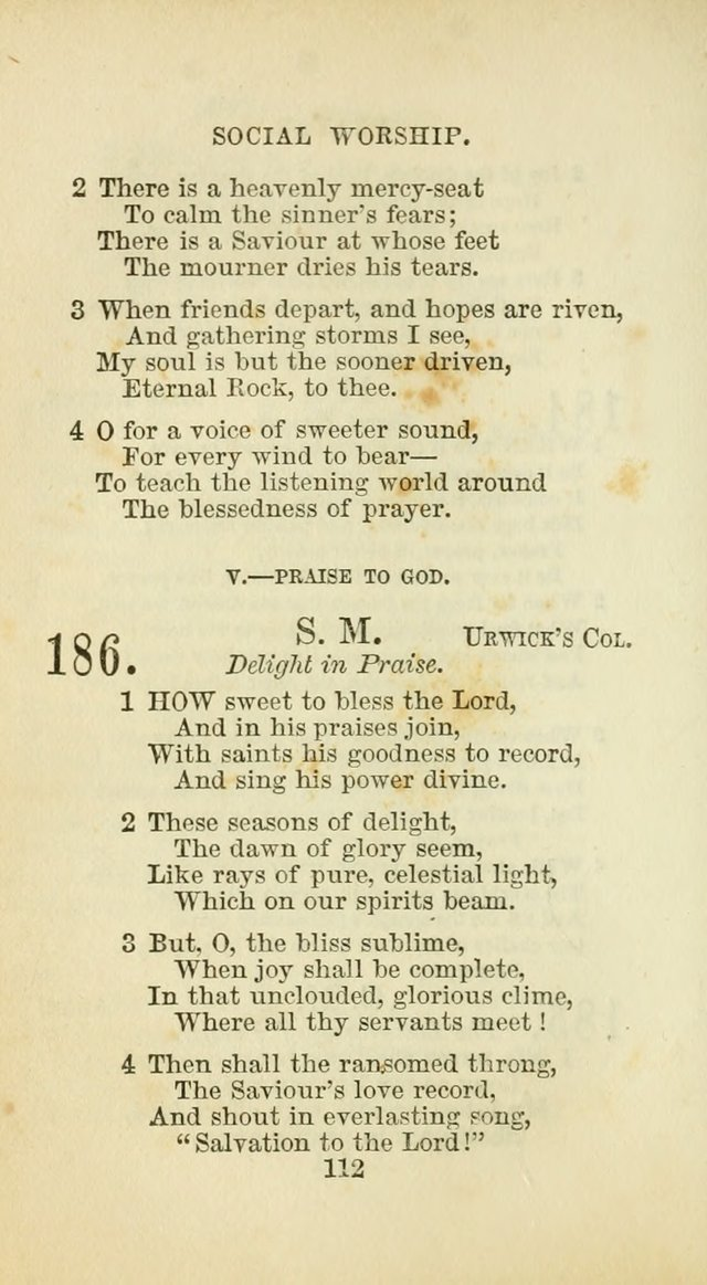 The Baptist Harp: a new collection of hymns for the closet, the family, social worship, and revivals page 145
