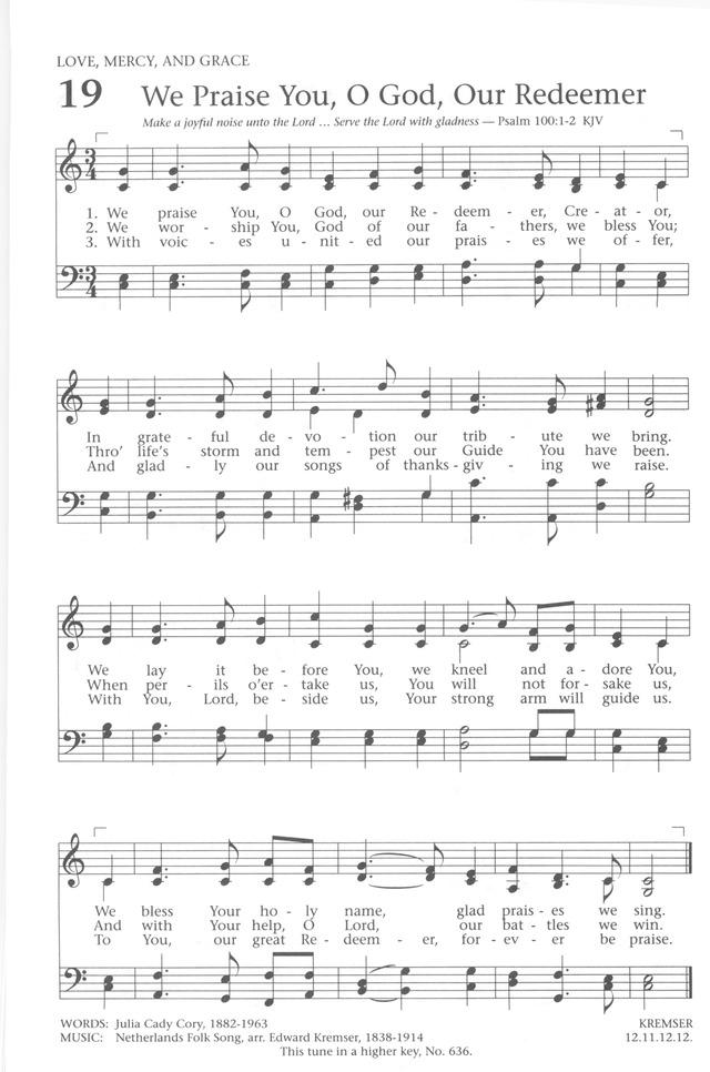 baptist hymnal sheet music pdf