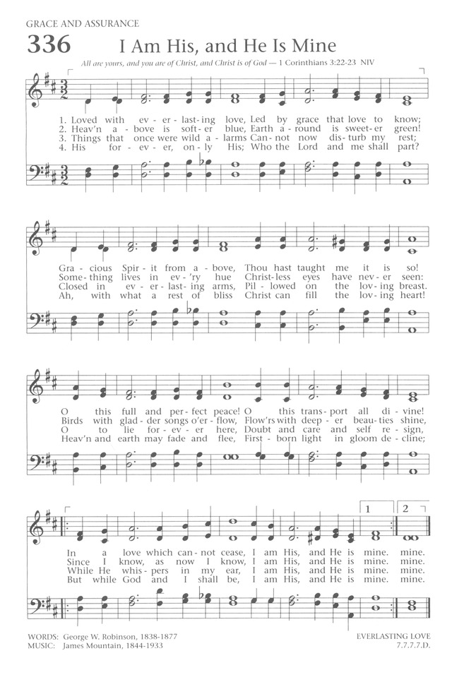 Baptist Hymnal 1991 page 300