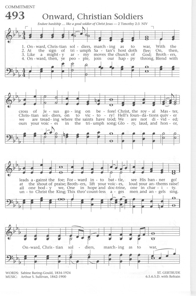 Baptist Hymnal 1991 page 438