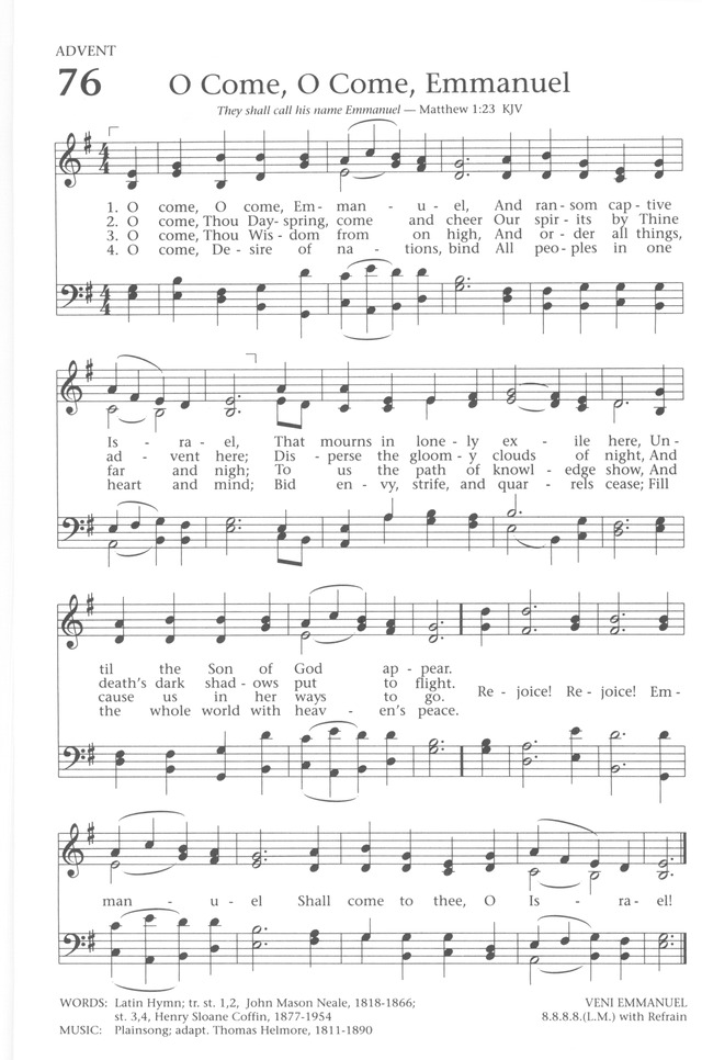 Baptist Hymnal 1991 page 68