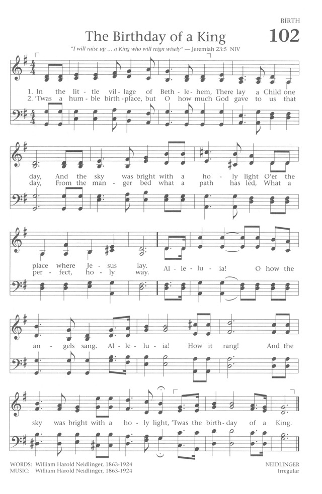 Baptist Hymnal 1991 page 91