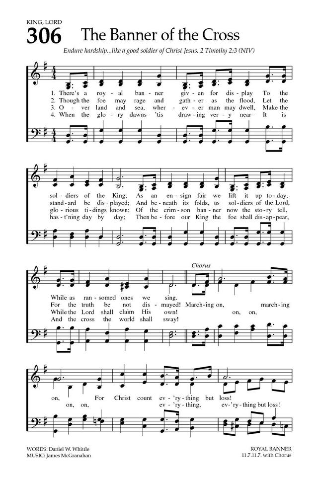 The Banner of the Cross | Hymnary.org