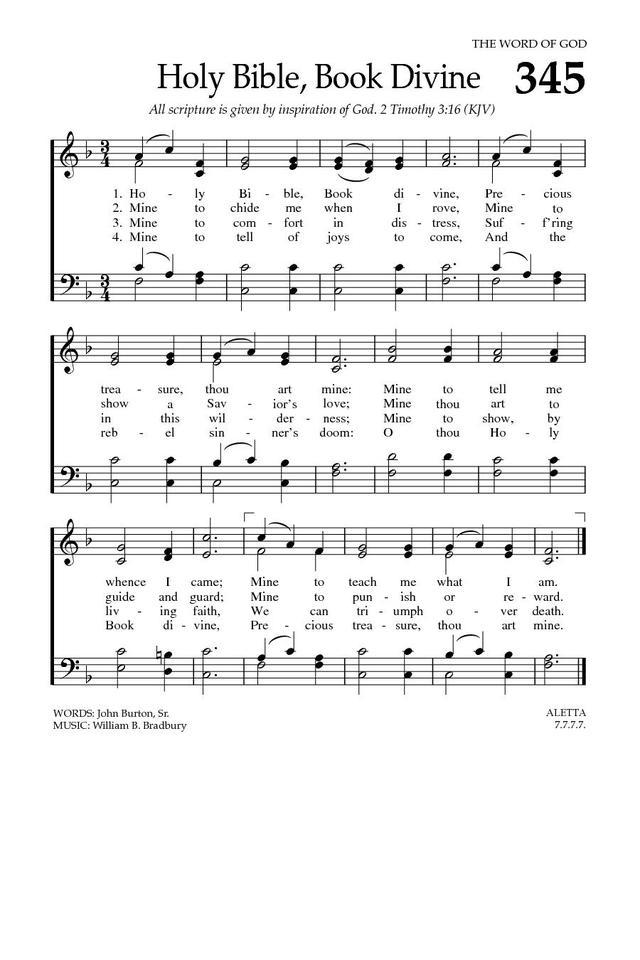 Lyric my most precious treasure lyrics : Holy Bible, Book Divine | Hymnary.org