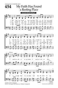 My Faith Has Found a Resting Place   Hymnary org