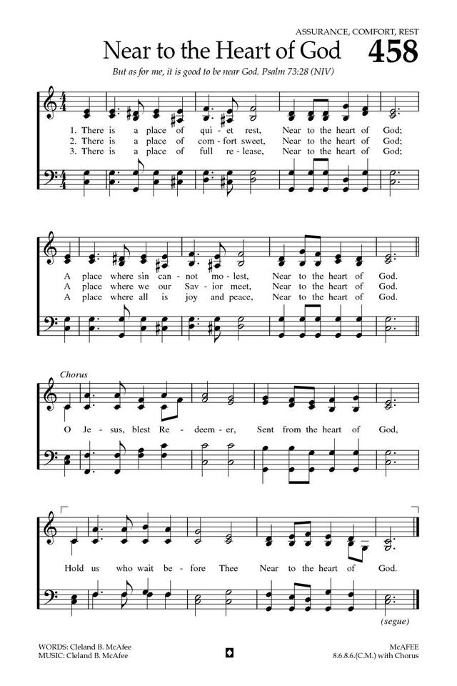 Baptist Hymnal 2008 page 630