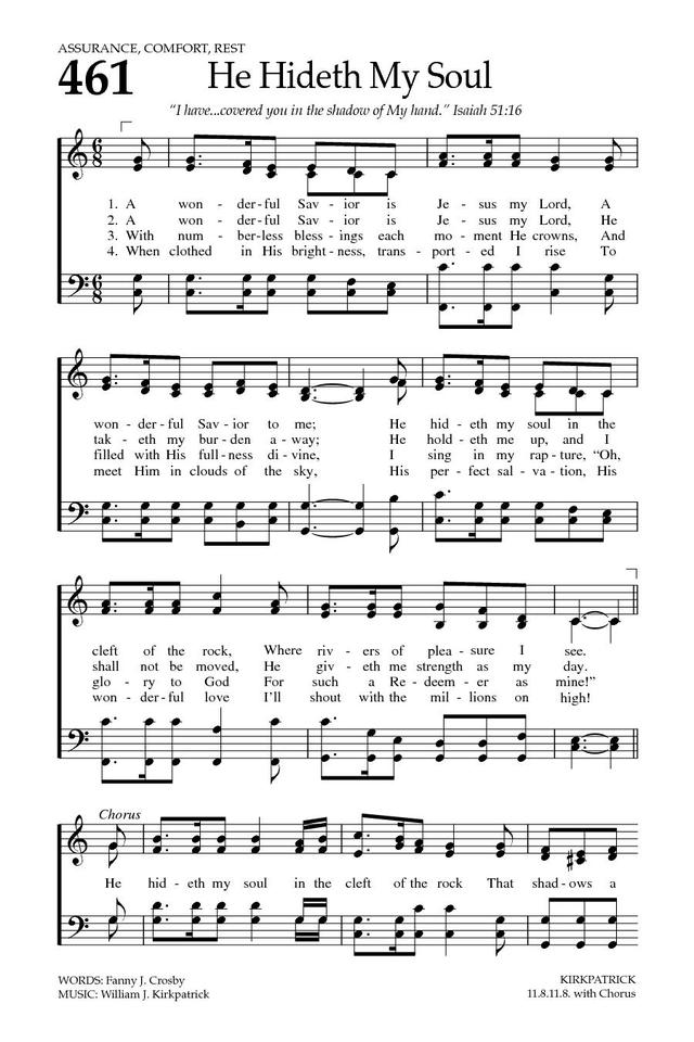 Lyric lyrics to bless the lord oh my soul : Baptist Hymnal 2008 461. A wonderful Savior is Jesus my Lord ...