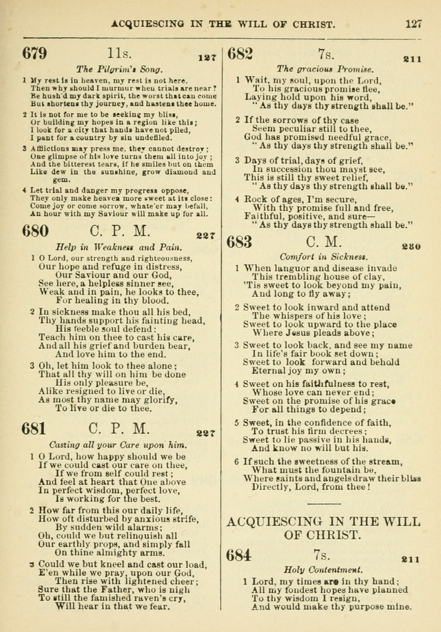 The Baptist Hymn Book page 128