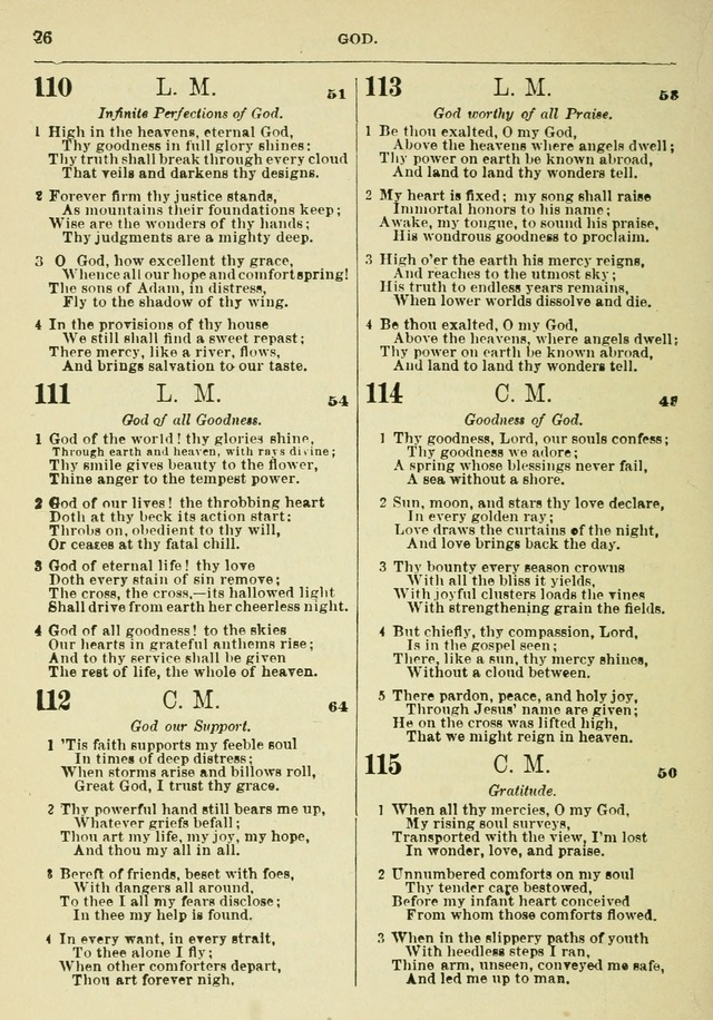 The Baptist Hymn Book page 27