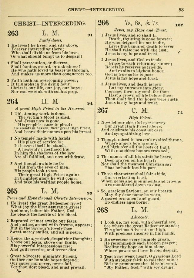 The Baptist Hymn Book page 54
