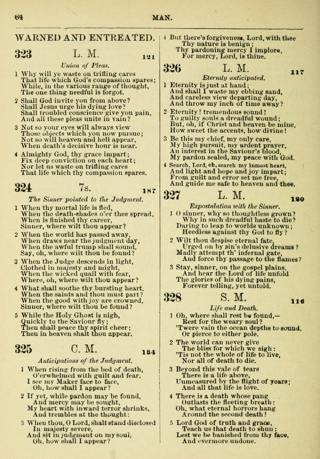 The Baptist Hymn Book page 65