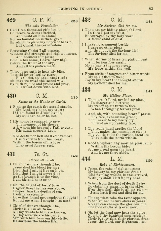 The Baptist Hymn Book page 84
