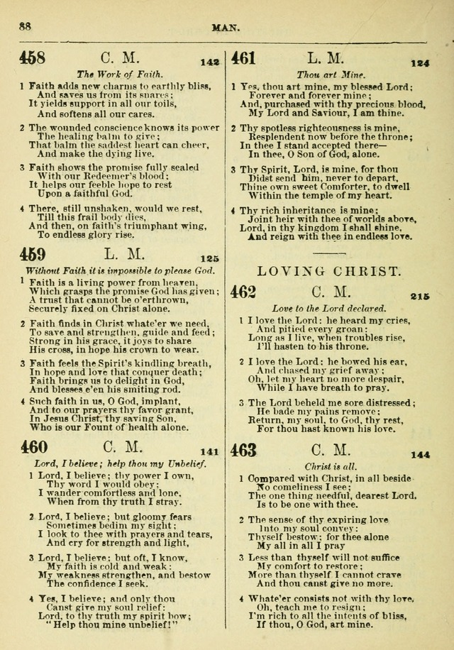 The Baptist Hymn Book page 89