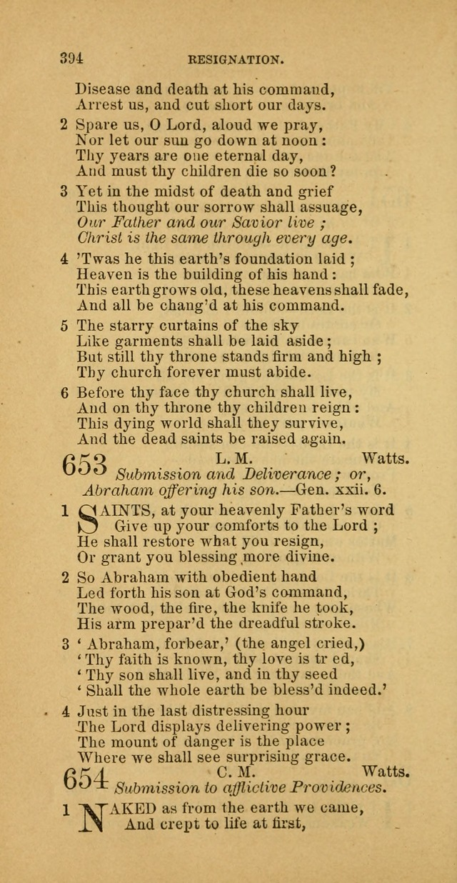 The Baptist Hymn Book: comprising a large and choice collection of psalms, hymns and spiritual songs, adapted to the faith and order of the Old School, or Primitive Baptists (2nd stereotype Ed.) page 396