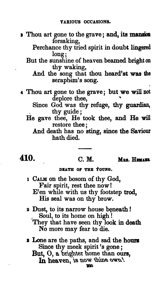 A Book of Hymns for Public and Private Devotion. (10th ed.) page 326