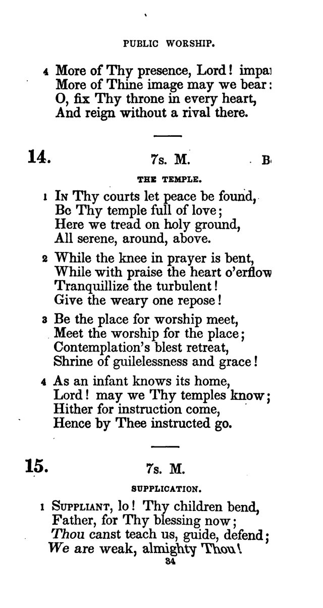 A Book of Hymns for Public and Private Devotion. (10th ed.) page 40