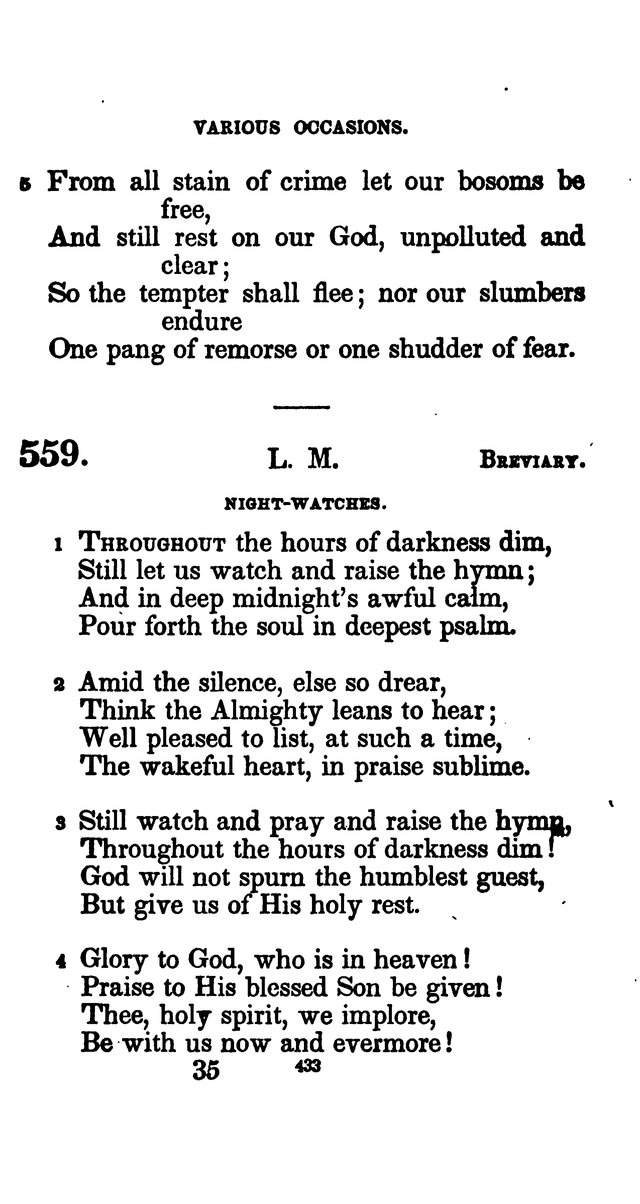 A Book of Hymns for Public and Private Devotion. (10th ed.) page 439
