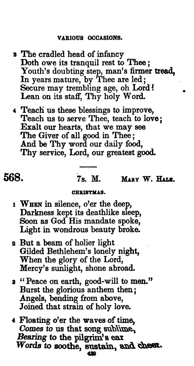 A Book of Hymns for Public and Private Devotion. (10th ed.) page 445