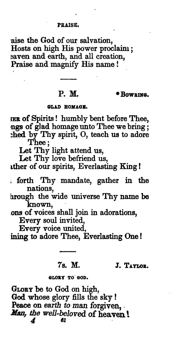 A Book of Hymns for Public and Private Devotion. (10th ed.) page 67