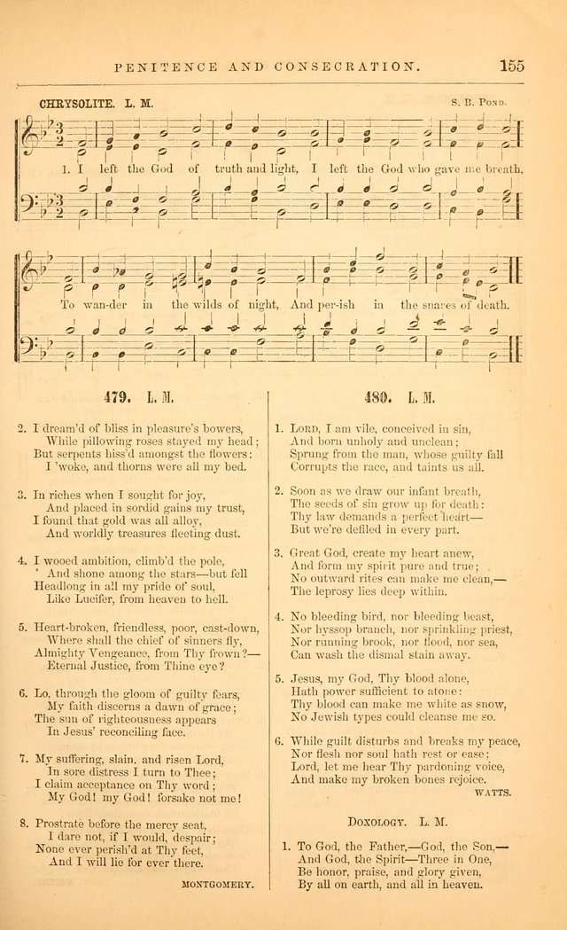 "The Baptist Hymn and Tune Book: being ""The Plymouth Collection"" enlarged and adapted to the use of Baptist churches page 207"