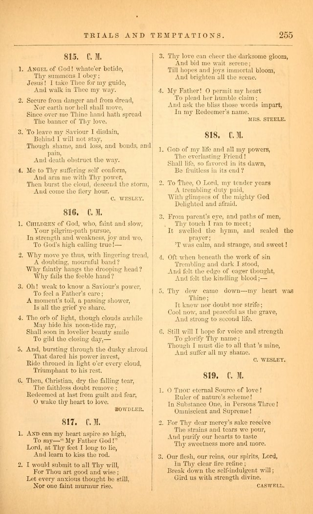 "The Baptist Hymn and Tune Book: being ""The Plymouth Collection"" enlarged and adapted to the use of Baptist churches page 309"