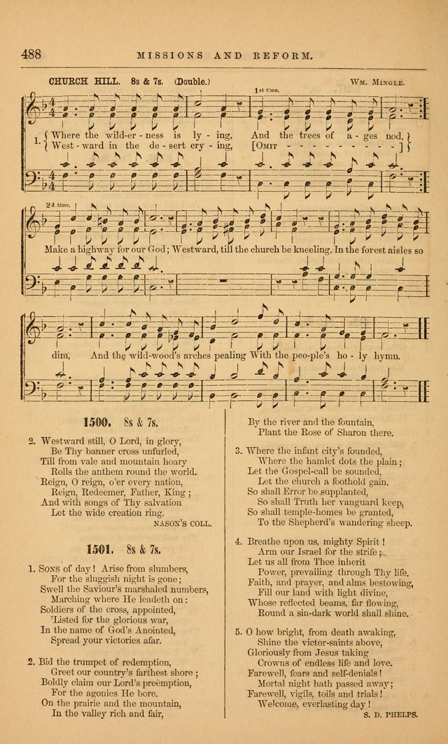 "The Baptist Hymn and Tune Book: being ""The Plymouth Collection"" enlarged and adapted to the use of Baptist churches page 542"