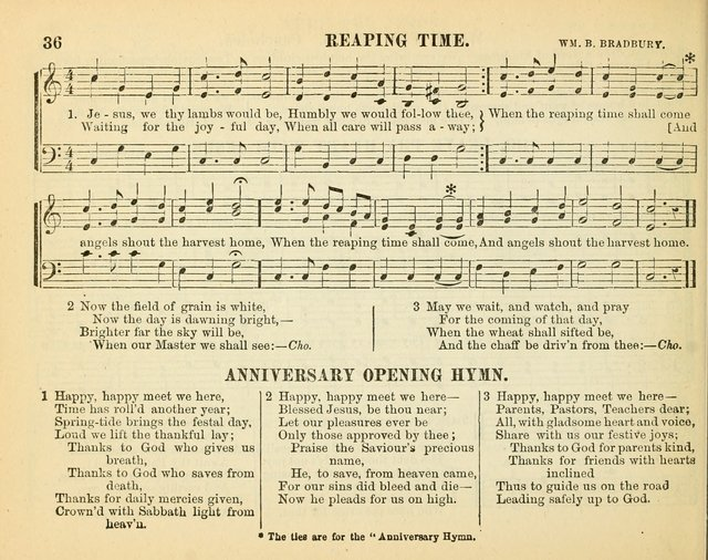 Bright Jewels for the Sunday School: a new collection of Sunday School songs written expressly for this work, many of which are the latest compositions of William B. Bradbury... page 41